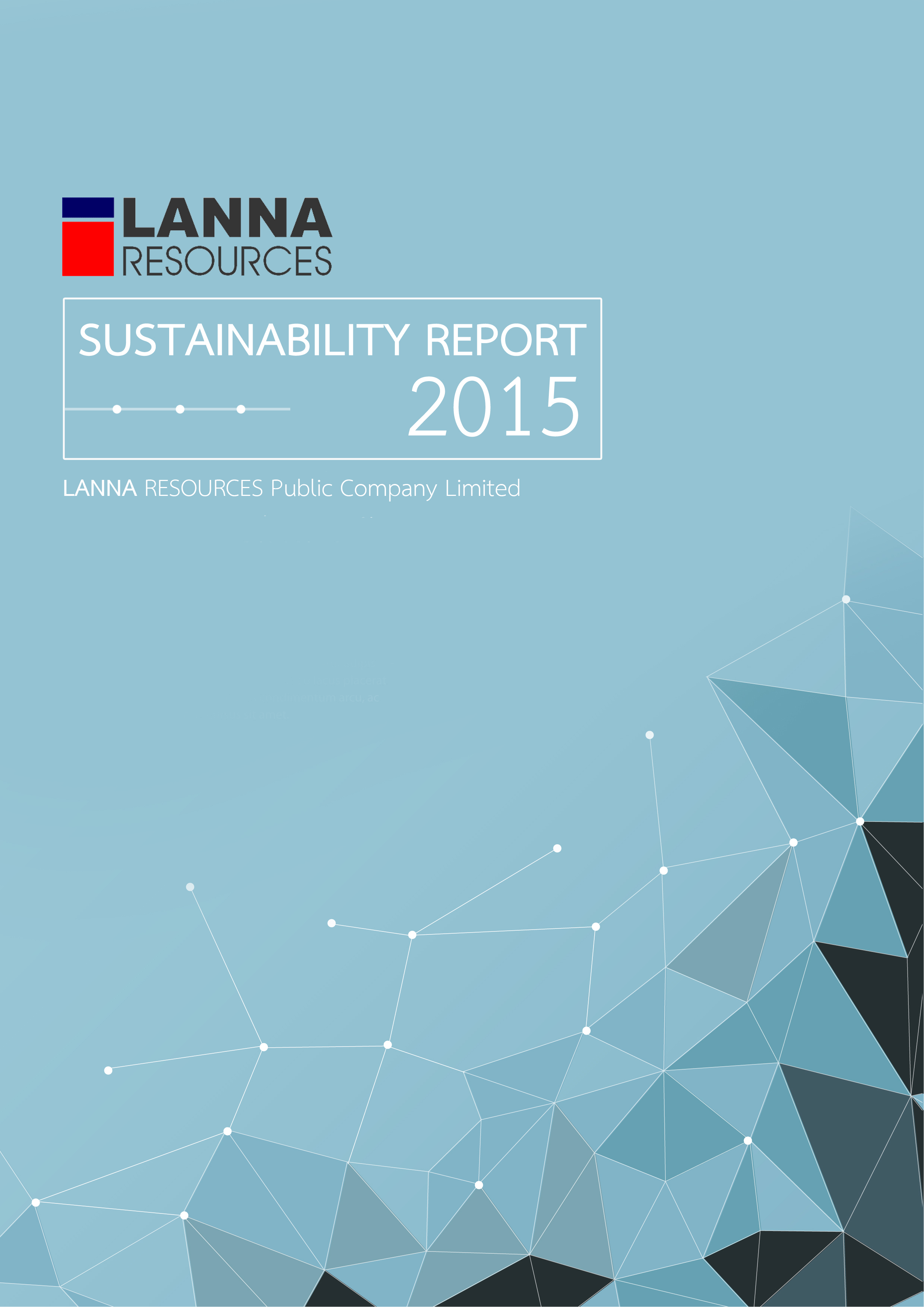 Corporate Sustainability Report 2015