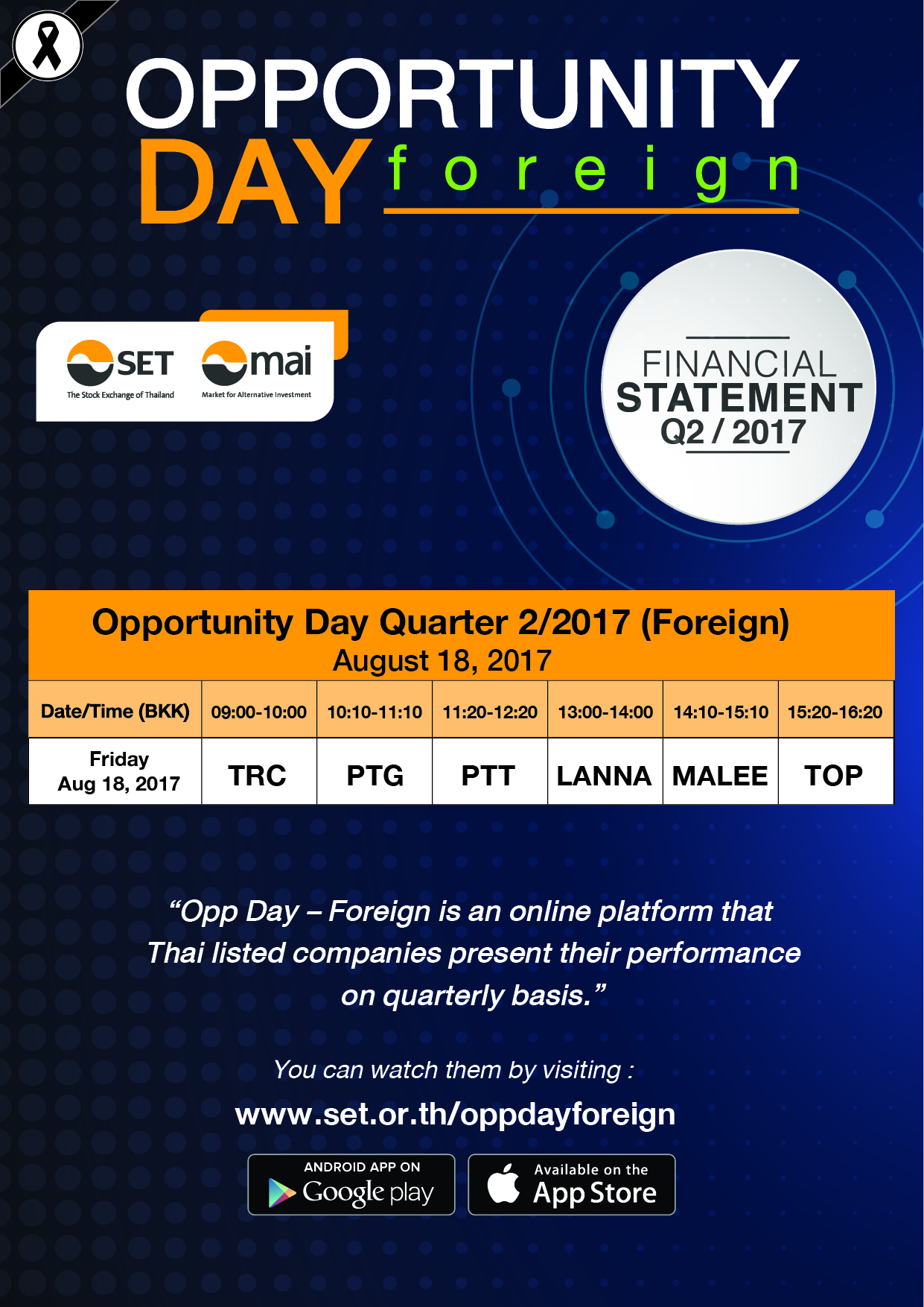 Oppportunity Day